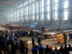 $250m ship repair plant started