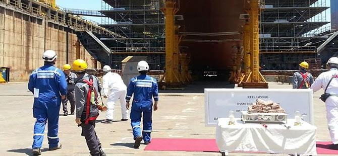 Teekay Lays Keel For Second MEGI LNG Carrier