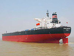 LR1 Tanker received