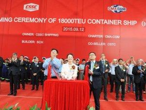 CMA CGM Adds Second Made-in-China Mega Boxship