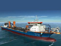 Van Oord launches new vessel