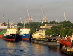 Volume down in St. Petersburg