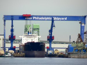 Aker Philadelphia Sells Tankers to Marathon