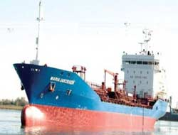 Chemical tanker wrecks fish farm