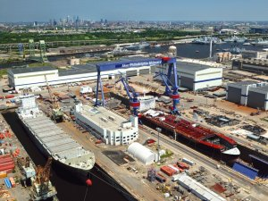 Crowley Takes Delivery of Its First LNG-Ready Tanker