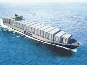 Steel Cut for Largest Jones Act Boxships