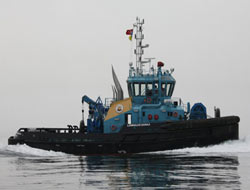 Med Marine delivers LNG port tug