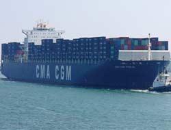 New world CMA-CGM new service