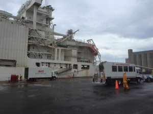 Livestock Carrier Catches Fire in Australia's Port of Portland