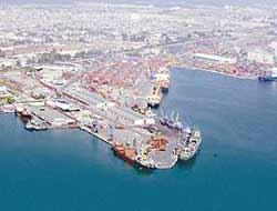 Operations in Mersin port