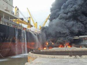 At least seven dead in grain terminal blaze