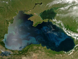 Larger agenda: Black Sea