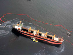 Vessel grounds off Norway