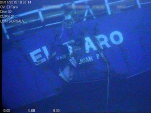 NTSB Releases Underwater Footage of El Faro