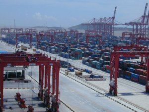 Port of Shanghai Profit Drops