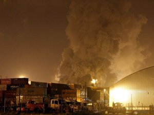 Chemical Container Fire Disrupts Brazil's Santos Port