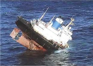 Crew blamed for tanker sinking