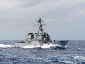 U.S. Navy Sends Warship Near Disputed South China Sea Island