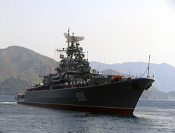 Russian navy against piracy