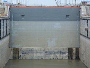 Panama canal crack fixed