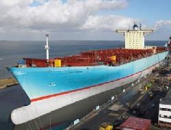 Steel Shipyard deliver Ebba Maersk