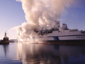 Former investigator claims crew lit deadly fire aboard 'Scandinavian Star' ferry in 1990