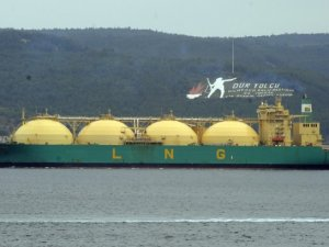 Chevron's first LNG ship departs for Japan