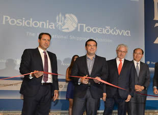 Posidonia 2016: PM Tsipras Highlights Importance of Shipping for Greek Economy