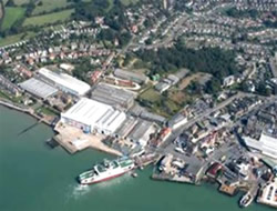 New marina at East Cowes