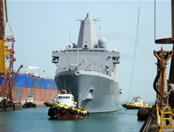 Shipbuilding expansion moves on