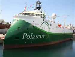 Advanced seismic vessel delivered
