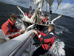 Campaign for young sailors