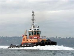 Boston Towing receives the tug
