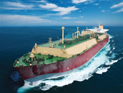 LNG carrying vessel sent to USA