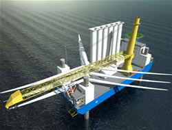 Offshore windfarm ship ordered