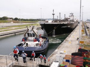 Panama Canal Design Concerns Renewed After Ship Hits Wall