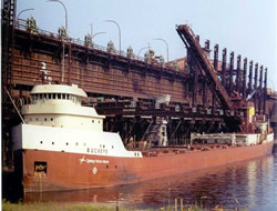 Ships to be banned iron ore cargo