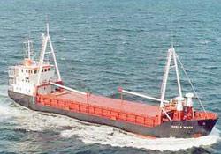 Danish ship captured pirates