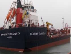 New barge at Algeciras Port