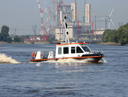 Sounding boat enters into service