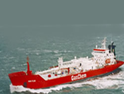 Meyer Werft delivers gas tanker