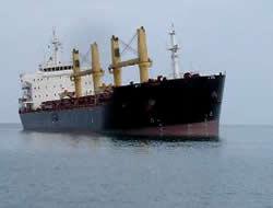 Bulk carrier has been refloated