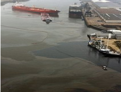Crude Oil Spill in Texas