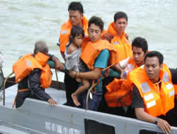Ferry accident in Indonesia