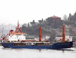Turkish ship runs aground