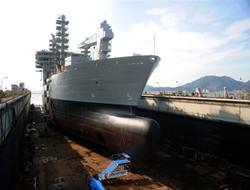 First Fleet Tanker For Indian Navy