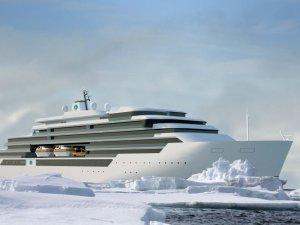 DNV GL to Class Crystal's Three Polar Class Megayachts
