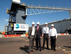 Floating Dry Dock Officially Named