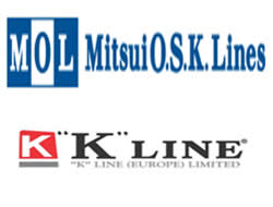 K Line&MOL team for new service