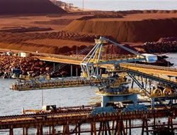New mega-iron ore port to launch
